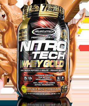 NITRO-TECH 100% Whey Gold