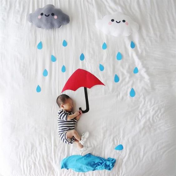 20+ Creative Baby Photography Ideas at Home