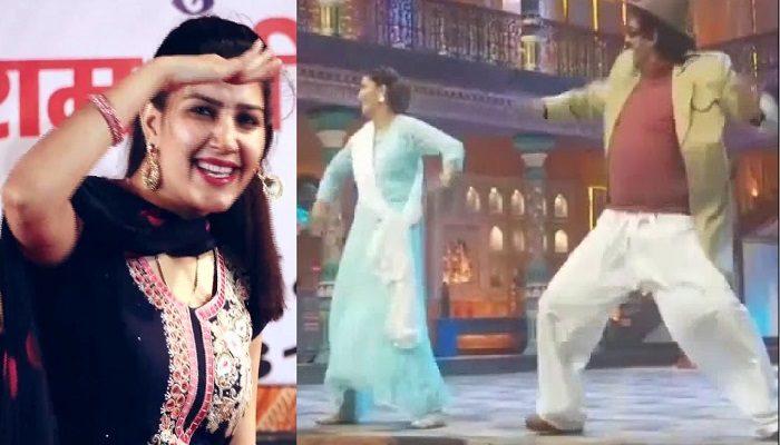 sapna choudhary teri aakhya ka yo kajal dance