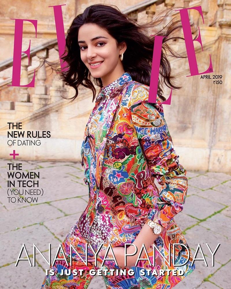 Ananya Pandey magazine photo shoot