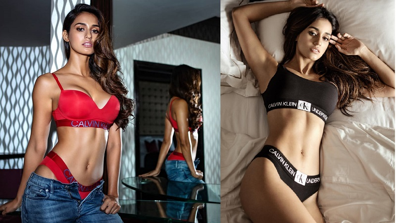 Disha Patani Ultra New Hd Wallpaper In Bikini: Disha Patani Bikini Photos: Latest Bikini Photoshoot