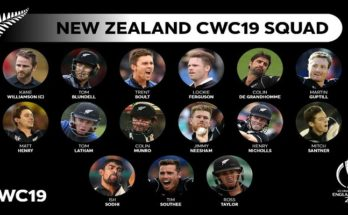 ICC World Cup 2019, New Zealand, Kane Williamson, World Cup 2019, New Zealand squad,