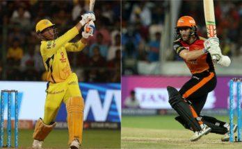 SRH vs CSK, IPL 2019, Sunrisers Hyderabad, Chennai Super Kings,Rajiv Gandhi International Stadium, Delhi Capitals, MS Dhoni, Kane Williamson