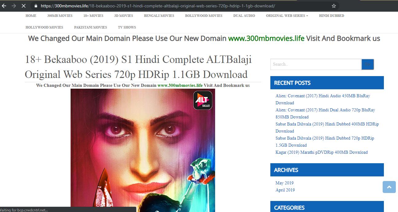 Alt Balaji Web Series Download Website